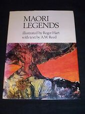 Maori Legends - 1973, A W Reed text & Roger Hart illustrations