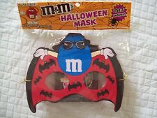 M & M HALLOWEEN MASK BLUE M&M