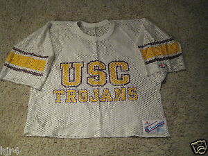 USC Trojans Southern Cal Football Team Practice Game Used Champion Jersey M