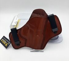 Sig P239 | Tagua Dual Clip Leather IWB Holster Brown Leather RH DCH-442 239 NEW