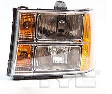 TYC NSF Left Side Halogen Headlight Assy For GMC Sierra 1500 2007-2013 Models
