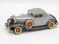 Brooklin SB 1/43 - Packard Light 8 1932 N°6 Grise Toit Gris