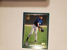 2001 Topps Baseball #726 ICHIRO SUZUKI ROOKIE CARD