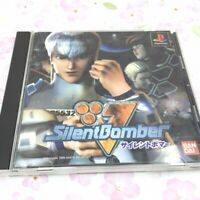 USED PS1 PS PlayStation 1 Silent Bomber 43165 JAPAN IMPORT