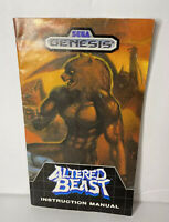 Altered Beast Genesis Instruction Manual Booklet NO SEGA GAME - Manual Only