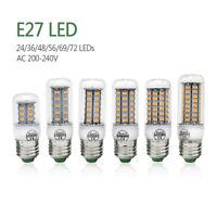 E26 E27 5730 SMD Corn Light Bulb 110V 220V LED Lamp Energy Saving US Base th