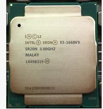 Intel  xeon  E5-1660V3 SR20N  3.0GHZ 8 CORE  LGA2011-V3 CPU PROCESSOR HP Z440