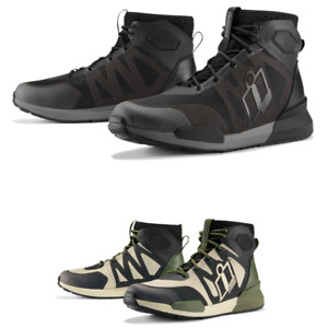 2021 Icon Hooligan Riding Street Motorcycle Shoes - Pick Size & Color