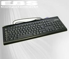 MEDION Ps2 Tastatur Model Kb-0837 German schwarz