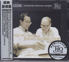 """Yo-Yo Ma Plays Ennio Morricone"" Japan FORS UHQCD Audiophile CD Limited Numbered"