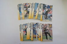 1998/99 Cricket Victorian Bushrangers set 20 cards