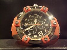 Invicta Reserve 17975 Swiss Made Sea Base Limited Edition Orange Chrono Watch