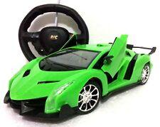 LAMBORGHINI AVENTADOR GREEN RADIO REMOTE CONTROL 1:16 LED FAST DRIFTING CAR