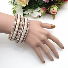Indian Party Wear Stone Bangles Size (2.8),(Set Of 2)