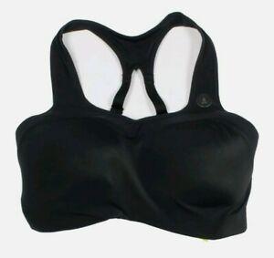 Nike Pro Alpha High Support Sports Bra  Women's Size S (D-E) Black NEW