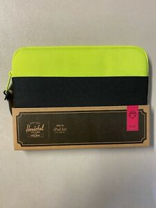 Herschel Apple iPad Air Anchor Sleeve Padded Case Cover Neon/Black NEW IN CASE!