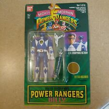 New Sealed 1994 Bandai Blue Mighty Morphin Auto Morphin Power Rangers Billy