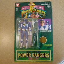 New Sealed 1994 Bandai Blue Mighty Morphin Auto Morphin Power Rangers Billy