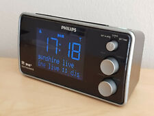 Philips AJB3552 DAB+ / FM Radiowecker mit Senderspeicher