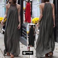 Vestito Donna Estate Abito Lungo Copricostume Woman Maxi Summer Dress 110408