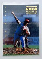 1994 Futera ABL Australian Baseball Export Gold Prospect #118 Carlos Reyes