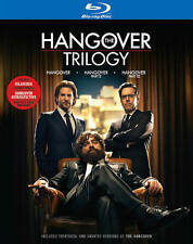 The Hangover Trilogy Blu Ray Set (2013) * Brand New * Bradley Cooper