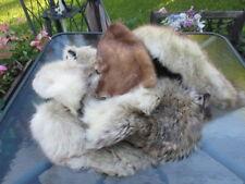 #10 lots nice craft cutters  from fur coat fox, lamb,raccoon,mink,beaver