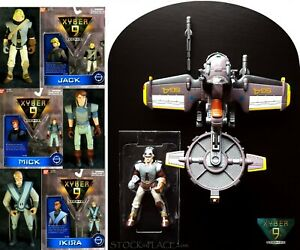 XYBER 9 New Dawn ACTION FIGURES