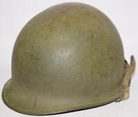 Original WWII US Military McCord Rear-Seam Swivel Bale M1 helmet