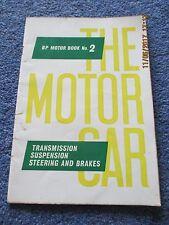 1962 Shell Mex BP Motor Book Number No 2 Transmission Suspension Steering Brakes