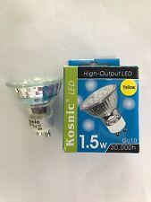 KOSNIC HIGH-OUTPUT 1.5W LED YELLOW GU10