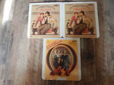 Vintage CED Videodisc LOT-Butch Cassidy & Sundance Kid, The Sting-3 Discs-RARE!