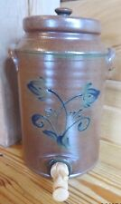 2006 ROWE POTTERY HISTORICAL COLLECTION  WATER COOLER  SALT GLAZED HANDMADE