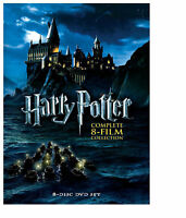 Harry Potter: Complete 8-Film Collection (DVD, 2011, 8-Disc Set) USA Seller