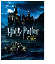 Harry Potter: Complete 8-Film Collection (DVD, 2011, 8-Disc Set) USA Seller
