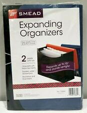 2 Pack Smead Expanding File Folder Organizers 13 Pockets With Tabs New 70860