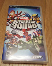 SONY PSP GAME - MARVEL SUPER HERO SQUAD *No Instructions* *FREE UK P&P*