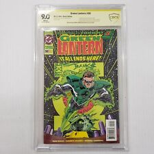 Green Lantern 50 CBCS CGC SS 9.0 Remark & Sig Darryl Banks 1st Kyle Rayner
