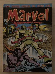 Marvel 4 1970 éditions Lug