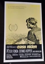 """1969 EASY RIDER LOBBY CARD/POSTER~RARE~PETER FONDA ~16 1/4""""x 11"""" with sleeve"""