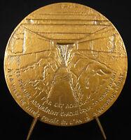 Medal le Bridge of Gard Narrowboat Roman Harmsworth Nimes Uzès