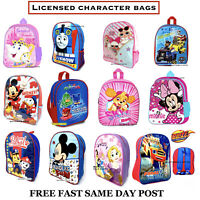 Kids Character Bag Blaze PJ Masks LOL Skye Backpack School Bag Rucksack Junior
