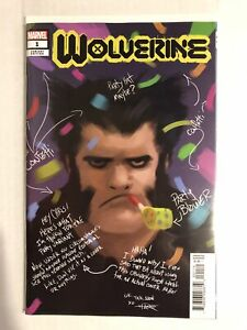 Wolverine #1 Rahzzah One Per Store Party Sketch Variant NM