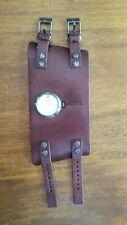 DIESEL Men's Wrist watch Brown Genuine Leather