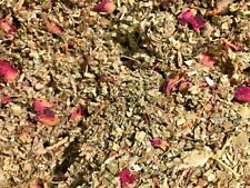 No.40 Mix Red Raspberry Rose Red Clover Marshmallow Mullein Bulk Herbal Blend