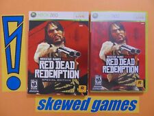 Red Dead Redemption Special Edition - cib with map - XBox 360 Microsoft