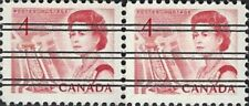 Canada    # 457 Pair XX     Queen Elizabeth II   Brand New 1967 Pristine Issue