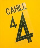 #4 CAHILL NAME NUMBER SET FOR 2018 WORLD CUP AUSTRALIA SOCCEROOS HOME JERSEY