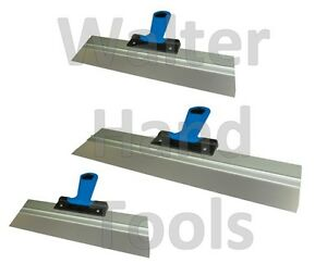 Stainless Taping Knife, Filling Knives, Finishing Plastering Spatula, Soft Grip