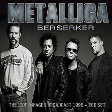 METALLICA New Sealed 2018 UNRELEASED LIVE 1995 SCANDINAVIA CONCERT 2 CD SET